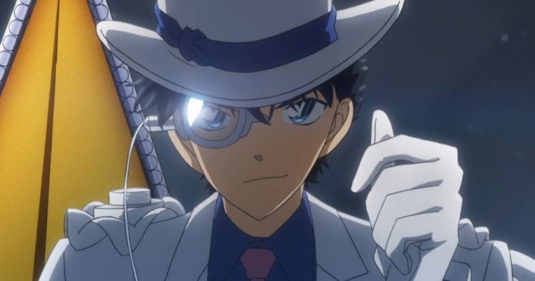 Detective Conan: Fist of Blue Sapphire Anime Film Earns 422 Million Yen on Opening Day