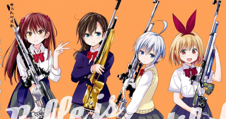 Rifle is Beautiful Anime Reveals Key Visual Voice Cast Staff