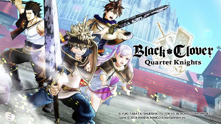 Black Clover Gift Ideas - Black Clover: Quartet Knights