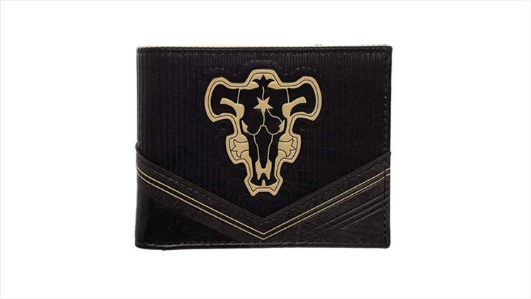 Black Clover Gift Ideas - Black Bulls Emblem Bifold Wallet
