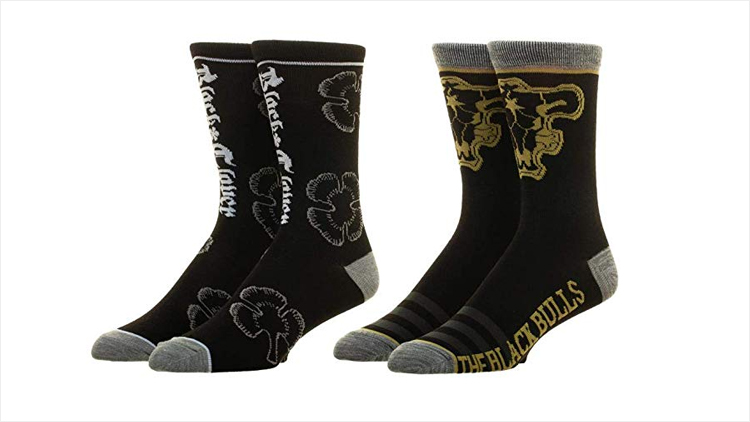 Black Clover Gift Ideas - Black Clover Ankle Socks