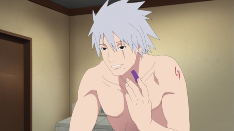 Kakashi's Face Reveal