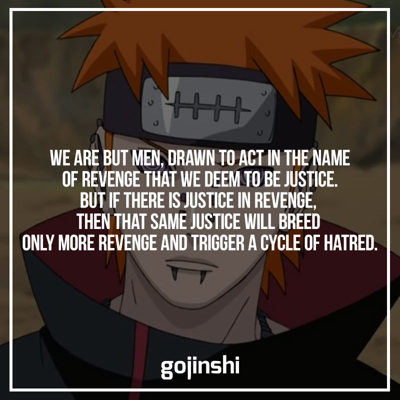 Pain Quotes From Naruto