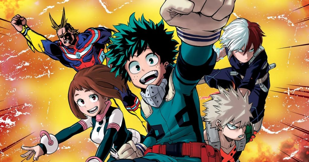 My Hero Academia Characters Height, Age, Quirks